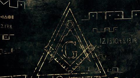 4K The Free Masonic Grand Lodge Sign v1 6 Animation