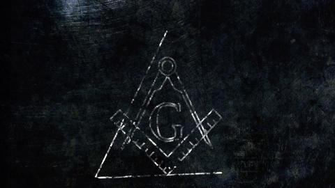 4K The Free Masonic Grand Lodge Sign v2 1 Animation
