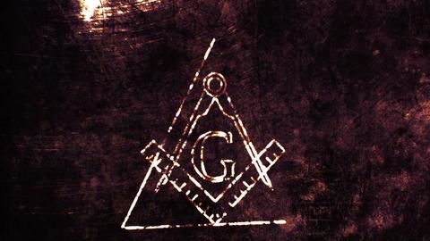 4K The Free Masonic Grand Lodge Sign v2 4 Animation