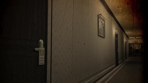 Make Up Room Hotel Door Sign Cinematic Motion Vintage 3D Animation 2 Animation
