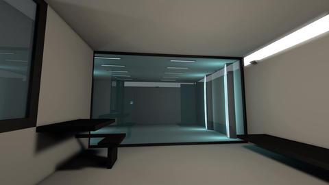 4K High Tech Super Criminal Prison Cell Lockup Scene v2 1 Animation