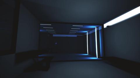 4K High Tech Super Criminal Prison Cell Lockup Scene v2 3 Animation