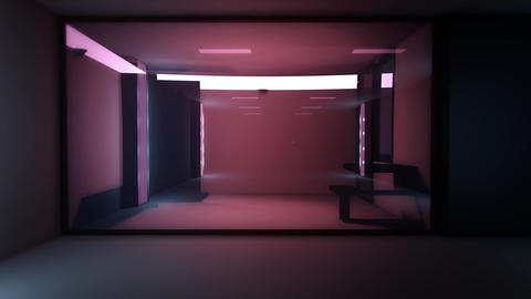 4K High Tech Super Criminal Prison Cell Lockup Scene v3 2 Animation