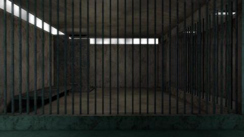 4K Old Worn Out Super Criminal Prison Cell Lockup Scene v2 1 Animation