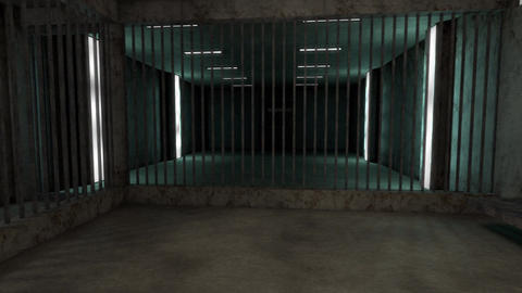 4K Old Worn Out Super Criminal Prison Cell Lockup Scene v3 1 Animation
