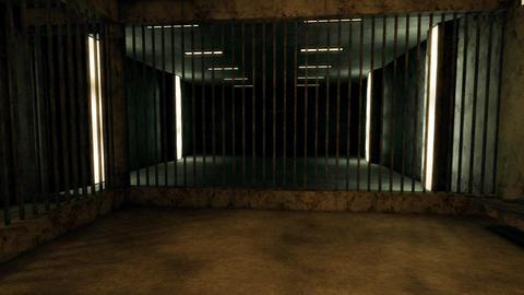 4K Old Worn Out Super Criminal Prison Cell Lockup Scene v3 2 Animation