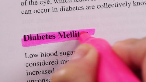 Medical Condition Highlighting Diabetes Live Action