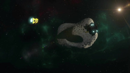 Asteroid Mining One Animation