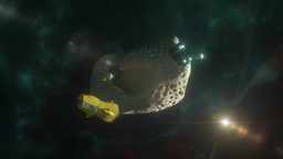 Asteroid Mining Two Animation