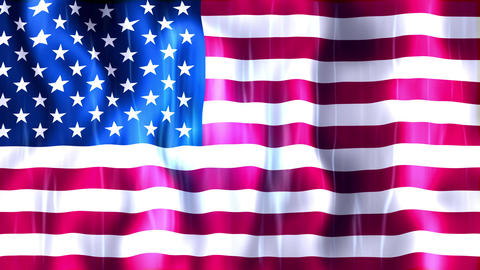 United States of America Flag Animation