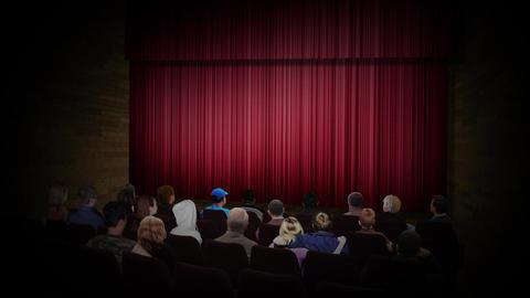 Movie stage Stock Video Footage