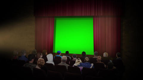 Movie stage Animation