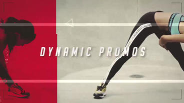 Dynamic Sports Promo After Effects Template