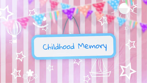 Childhood Memory Premiere Pro Template