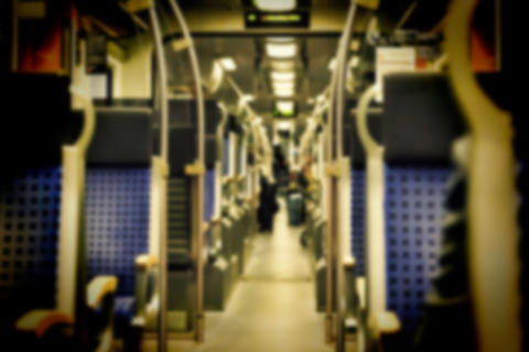 Blur, Comfortable seats, modern train, Travels, Subway car Photo