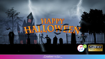 Halloween Intro - After Effects Template After Effects Template
