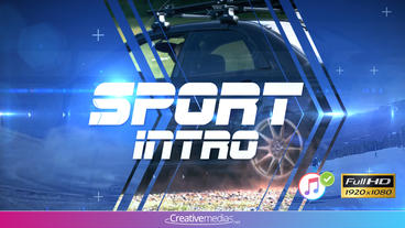 Modern Sport Intro – After Effects Template After Effects Template