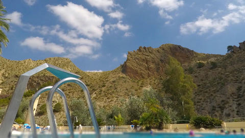Pool Massage Spa Resort Next to Big Mountain GIF