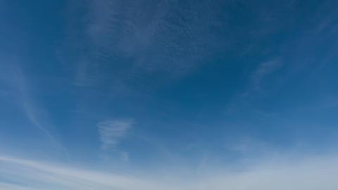 High qualitative time lapse of beautiful sky, no birds, no flicker Footage