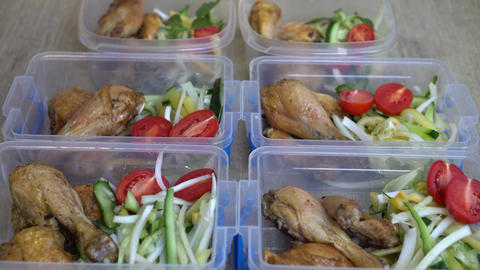 Healthy Meal Planning For Families Footage