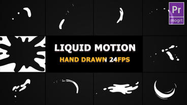 Liquid Motion Shapes Motion Graphics Template