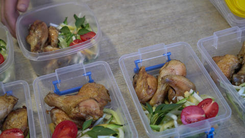 Bento Lunch Box. Meal Planning Live Action