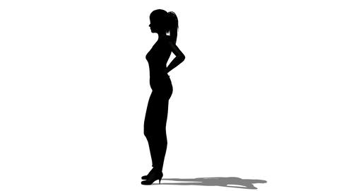 Woman Silhouette Animation