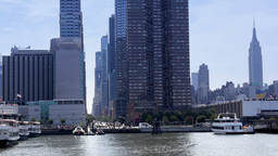 New York City Skyline Footage