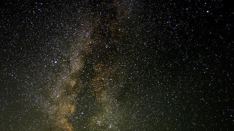 Perseid Meteor Shower Milky Way 03 Time Lapse Sierra Nevada Mts USA Footage