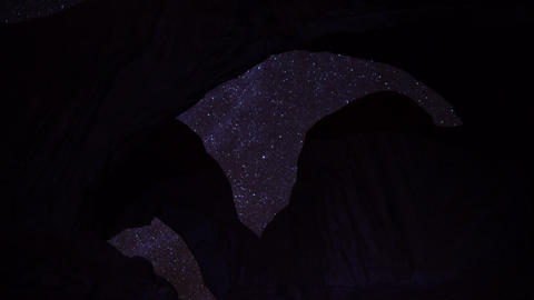 Arches Milkyway 12 Timelapse Taurids Meteor Shower Footage