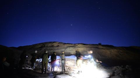 Canyonlands Night to Sunrise 01 Mesa Arch Photographers Footage