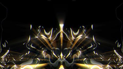 Liquid Shines Of Cosmic Enertgy Black Background VJ Loop Live Action