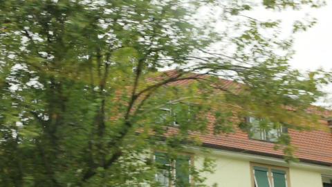 Colorful Windows Balconies Of Houses GIF