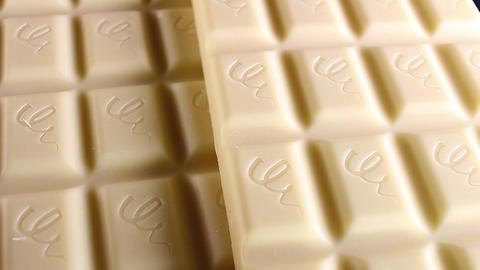 White chocolate bar. White chocolates. Choco bars Stock Video Footage