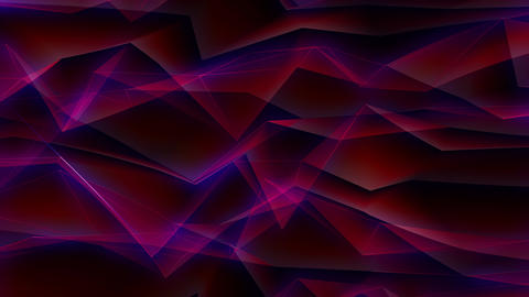 Triangles Background CG動画素材