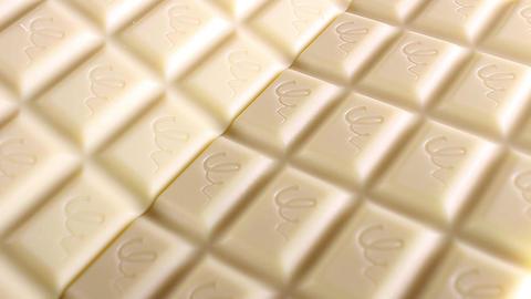 White chocolate bar. White chocolates. Choco bars Footage