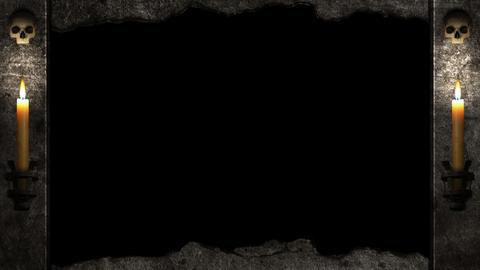 Halloween Tombstone Animation Overlay Animation