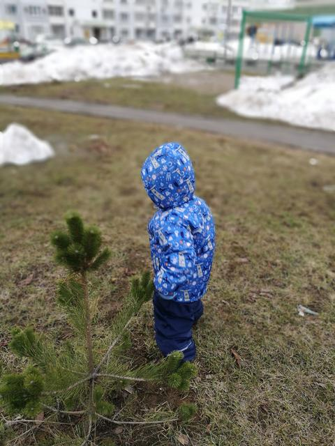 blue child childhood clothing cold temperature day Field focus on foreground Photo