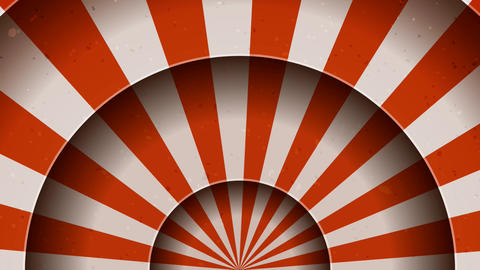 Animation Of Vintage Abstract Circus Background Animation