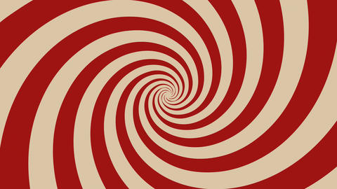 Hypnotic Spiral Background Rotating Animation