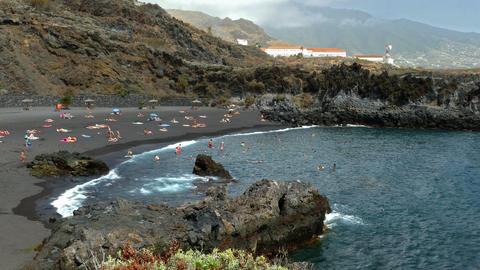 Beaches on the island of La Palma Archivo