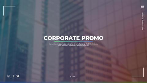 Corporate Promo Premiere Proテンプレート