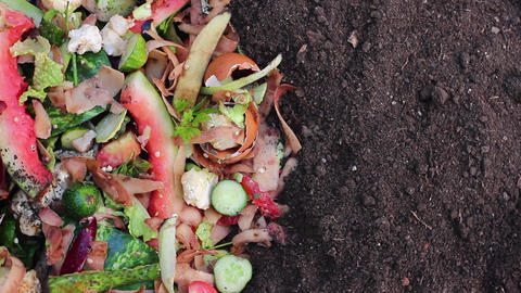 Compost Ingredients To Create Rich Black Soil Footage