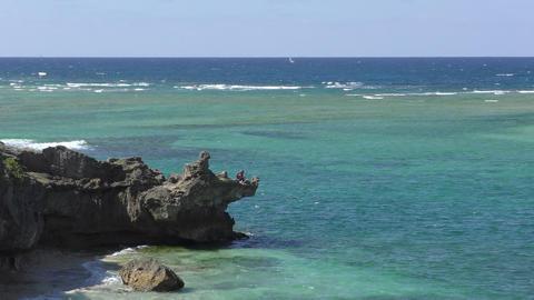 Okinawa Urasoe coast Footage