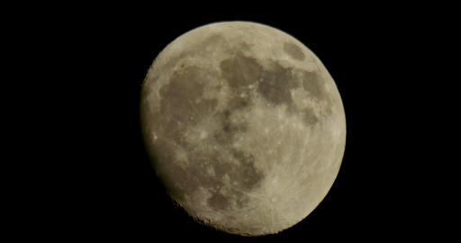 Moon LM02 Telescope Shot Footage