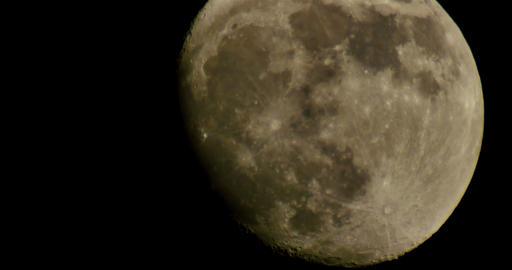 Moon LM11 Telescope Shot Footage