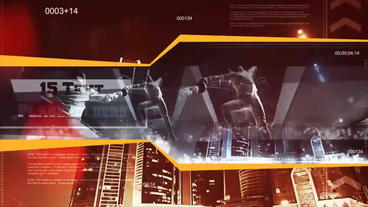 Action Sports Presentation After Effects Templates