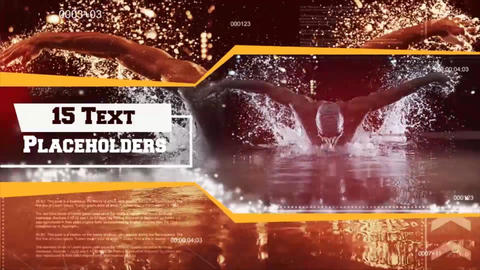 Action Sports Presentation After Effects Template