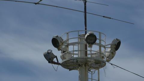 Big Outdoor Reflector Pole Footage
