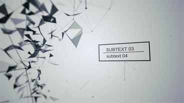 Abstract Titles After Effects Template